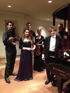 CoryFeye Quartet, Elina Buksha & Pavel Kolesnikov